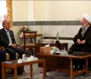 در آستانه بهشت « ویژه افتتاح شبستان امام خمینی(ره)»