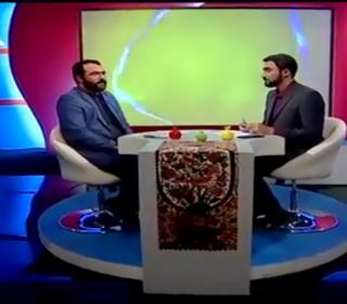 حضور مدیر کل ارتباطات و تبلیغات در برنامه رصد شبکه قرآن سیما وتشریح برنامه های آستان مقدس