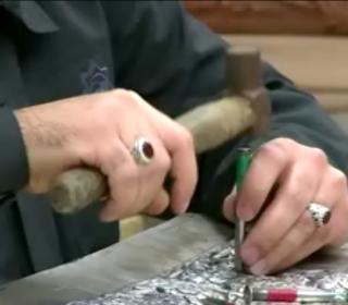 کلیپ ساخت ضریح جدید حضرت عبدالعظیم(ع) با عنوان نگاره های عاشقی